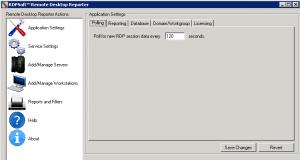 Configuring Polling Interval for Remote Desktop Reporter