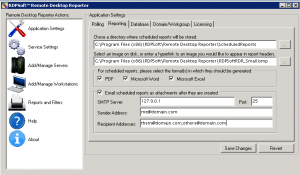 How to Report On Remote Desktop Activity