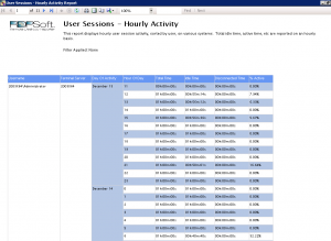 How to Report on User Activity in Terminal Server Sessions
