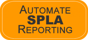 Automate SPLA Reporting