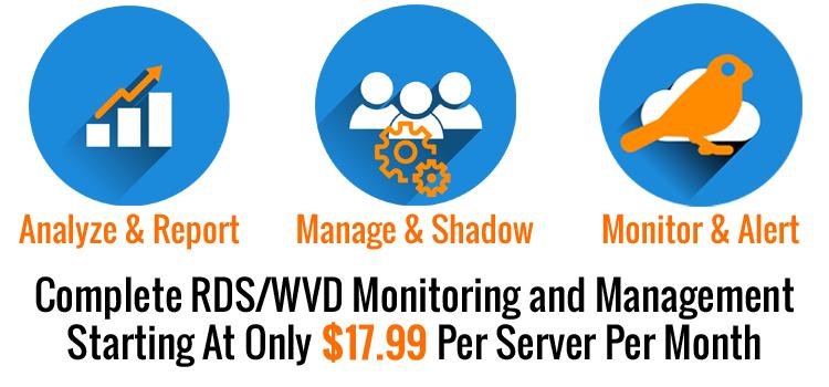 XenApp Monitoring $9 Per Server Per Month