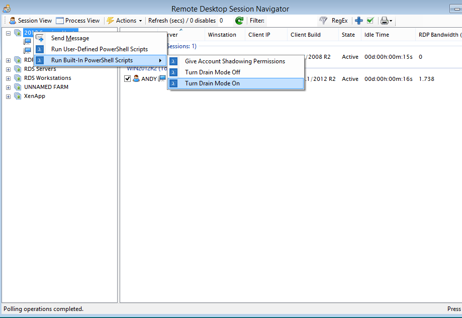 Remote Desktop Commander Lite | Free TSAdmin Replacement