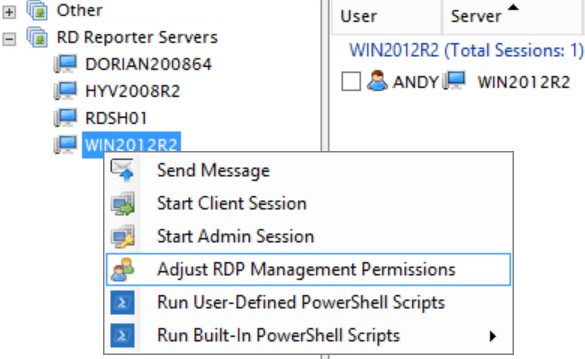 GUI to Adjust RDP Permissions
