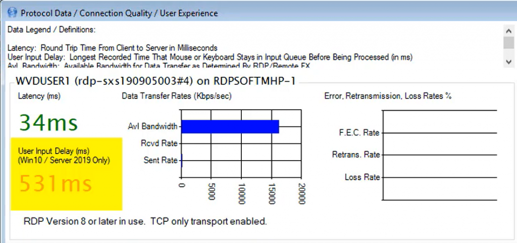 Profile User Experience in RDS and WVD with the User Input Delay Counter