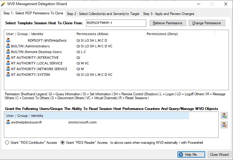 Windows Virtual Desktop Management Delegation