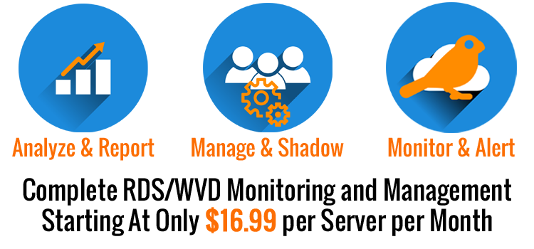 Complete RDS and WVD Monitoring and Management Bundle