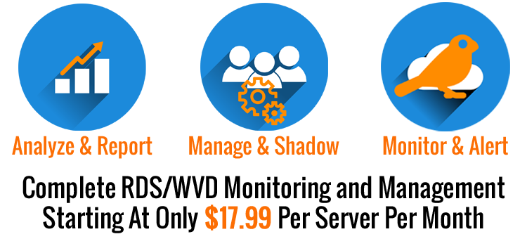 Complete RDS/WVD Monitoring and Management