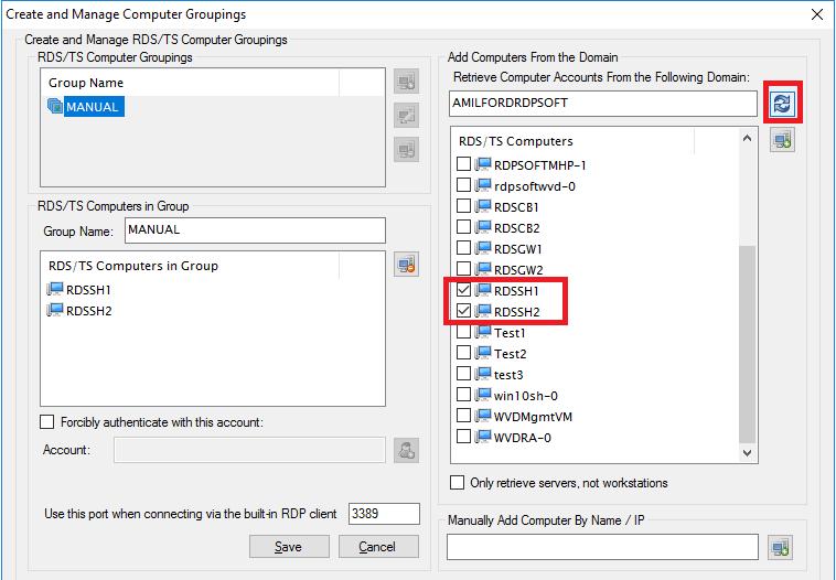 Define Custom Computer Groupings